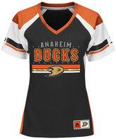 Majestic Women's Anaheim Ducks Ready to Win Shimmer Jersey
