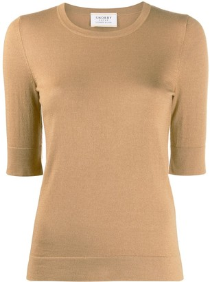 Snobby Sheep slim-fit knitted top