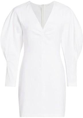 A.L.C. Aila Puff-Sleeve Mini Dress