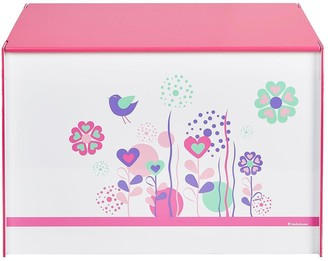 Hello Home Flowers and Birds Toy Box