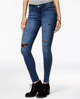 Celebrity Pink Juniors' Dawson Infinite Stretch Super-Skinny Ripped Jeans