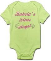 CafePress - Babcia's Angel (Girl) - Cute Infant Bodysuit Baby Romper
