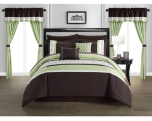 Chic Home Katrin 20-Pc. King Comforter Set Bedding
