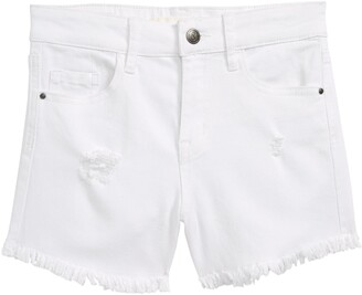 Treasure & Bond Distressed Denim Shorts
