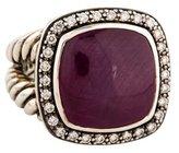 David Yurman Ruby & Diamond Albion Ring