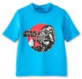 Star Wars Toddler Boys' Swim Rashguard - Turquoise