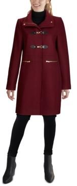 Cole Haan Petite Stand-Collar Coat