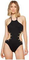 LaBlanca La Blanca - Eyes On You Hi-Neck Monokini One-Piece Women's Swimsuits One Piece