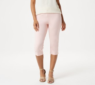 Linea by Louis Dell'Olio Ponte Knit Pull-On Capri Pants
