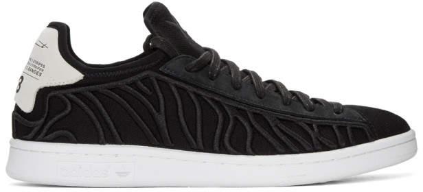 Y-3 Black Shishu Stan Sneakers