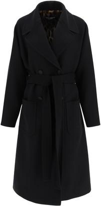 Dolce & Gabbana Oversized Wool Coat