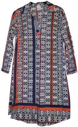 Sara Roka Multicolour Cotton - elasthane Dress for Women