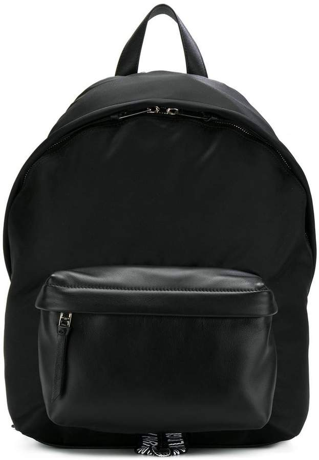 Givenchy logo strap backpack