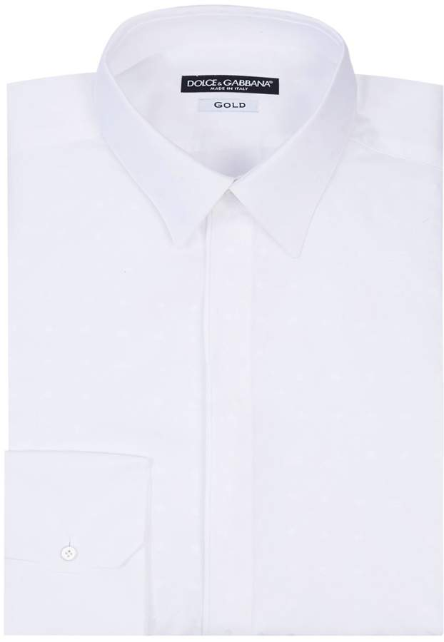 Dolce & Gabbana Textured Dress Shirt