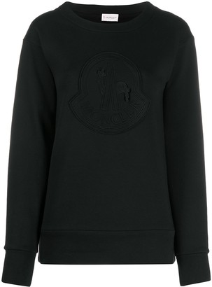 Moncler Logo-Embroidered Sweatshirt