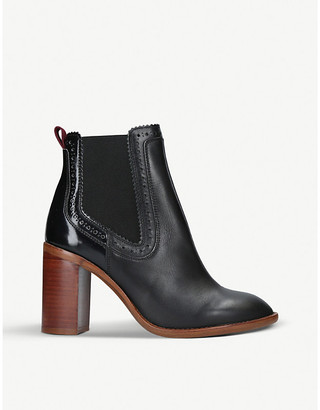 Kurt Geiger London Safari leather boots