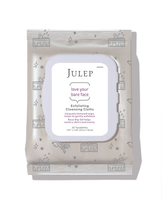 Julep Exfoliating Makeup Remover Wipes - 30-Count