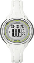 Timex Ironman Womens White Resin Strap 50-Lap Watch TW5K907009J