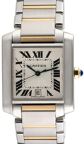 Cartier Vintage Tank Francaise 18K Yellow Gold & Stainless Steel Watch
