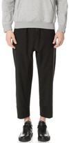 3.1 Phillip Lim Relaxed Fit Cropped and Tapered Trousers