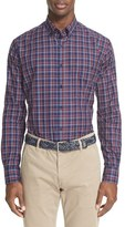 Paul & Shark Men's Mini Check Sport Shirt