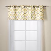 Bed Bath & Beyond Elite Izmir Cotton Grommet Window Valance - Yellow