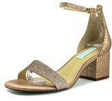 Betsey Johnson Miri Open Toe Synthetic Sandals.