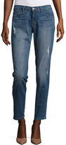 Flying Monkey Distressed Straight-Leg Jeans
