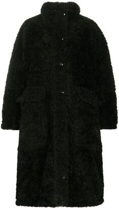 Diesel Reversible Oversized Teddy Coat