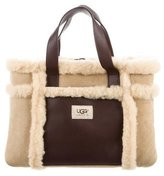 UGG Shearling & Leather Tote