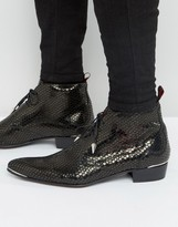 Jeffery West Adam Ant Shot Blast Chukka Boots