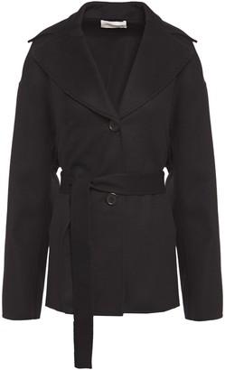 Mansur Gavriel Belted Wool And Cashmere-blend Felt Coat