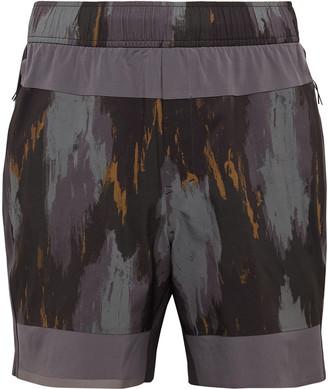 Lululemon Robert Geller Take The Moment Swift Shorts - Men - Gray