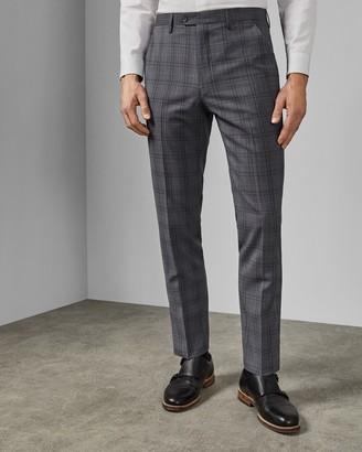 Ted Baker FLYDEBT Debonair wool check trousers