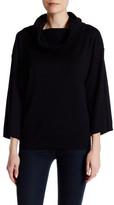 Joan Vass Cowl Neck Sweater