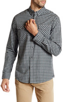 Kenneth Cole New York Long Sleeve Button Up Plaid Shirt