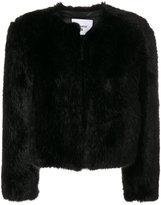 Dondup faux-fur cropped jacket
