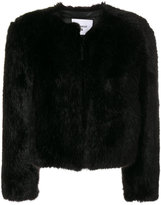 Dondup faux-fur fitted jacket