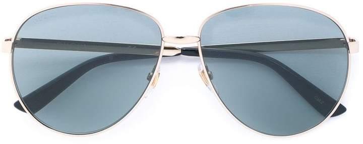 1d971e33c3 Red Tint Aviator Sunglasses - ShopStyle