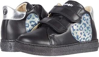 Naturino Falcotto Zenia VL AW20 (Toddler) (Black) Girl's Shoes