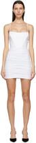 Thumbnail for your product : Alexander Wang White Corset Mini Dress