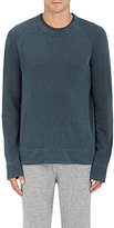 James Perse Men's Cotton Sweatshirt-BLACK