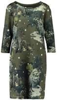 Expresso Summer dress mud green