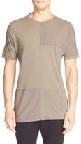 Helmut Lang Men's Pieced Short Sleeve T-Shirt