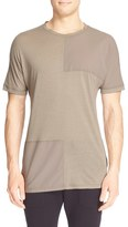 Helmut Lang Pieced Short Sleeve T-Shirt