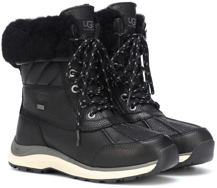 UGG Adironback III leather ankle boots