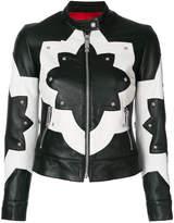 John Richmond two-tone stud jacket