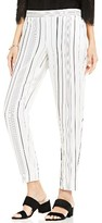 Vince Camuto Women's Stripe Slim Leg Pants