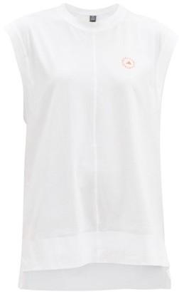 adidas by Stella McCartney Logo-print Organic-cotton T-shirt - White