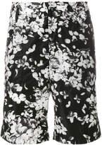 Givenchy flower printed Bermuda shorts